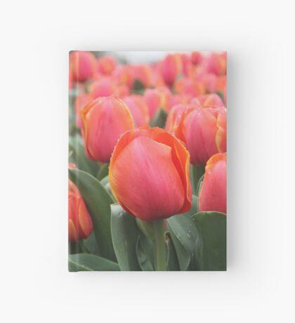 Sea of Orange Hardcover Journal