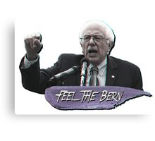 Feel The Bern 3D! Canvas Print
