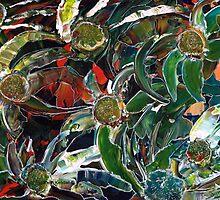 Hotnotsvy / Hottentot-fig by Elizabeth Kendall