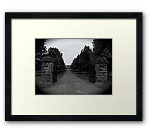 Two Rivers Mansion Framed Print