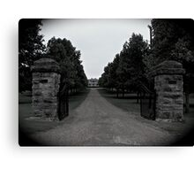 Two Rivers Mansion Canvas Print