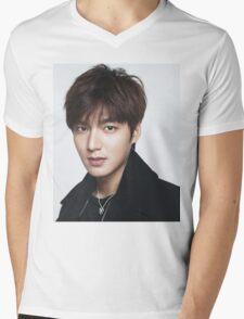 Handsome Lee Min Ho Mens V-Neck T-Shirt