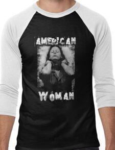Aileen Wuornos - American Woman Men's Baseball ¾ T-Shirt