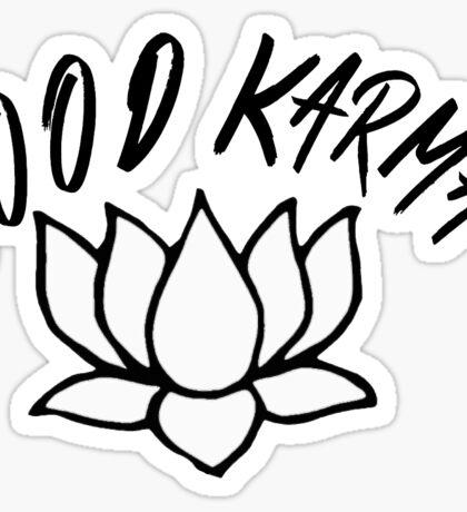 GOOD KARMA (script) Sticker