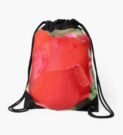 Rose are red and Tulips are to. Drawstring Bag