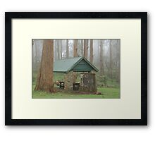 Inner Bowl Picnic Area Framed Print
