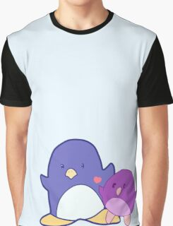 Penguin mother and child Graphic T-Shirt