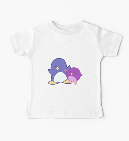 Penguin mother and child Baby Tee