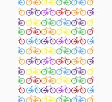 rainbow bicycles Unisex T-Shirt