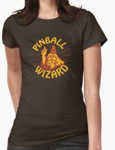 Pinball Wizard  Womens Fitted T-Shirt