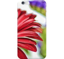 Large Bright Red Flowers  iPhone Case/Skin
