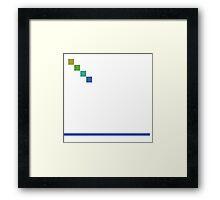 Align Framed Print