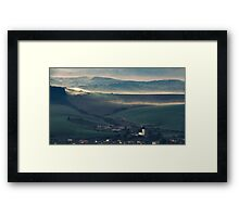 travel landscape Framed Print
