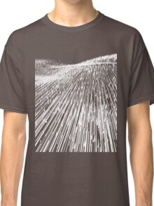 Abstract Field (white) Classic T-Shirt