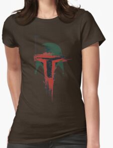 Bounty Hunter Womens Fitted T-Shirt