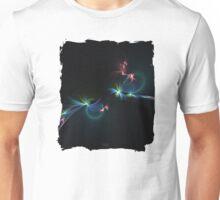 Fey Lights Fractal in Aurora 01 Unisex T-Shirt