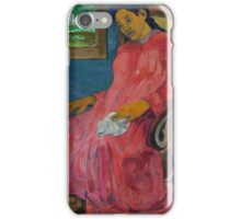 Paul Gauguin - Faaturuma Melancholic  iPhone Case/Skin