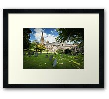 Llandaff Cathedral in Wales Framed Print