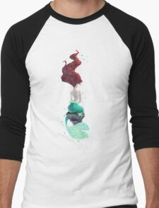 Mermaid Men's Baseball ¾ T-Shirt