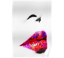 Lipstick red Poster