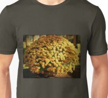 Chrysanthemums in a Basket Unisex T-Shirt