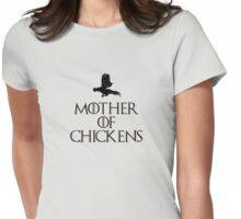 Mother Of Chickens Womens Fitted T-Shirt