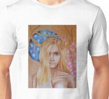 Antler Girl Unisex T-Shirt