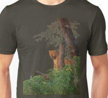 Leopard's Waterside Perch Unisex T-Shirt