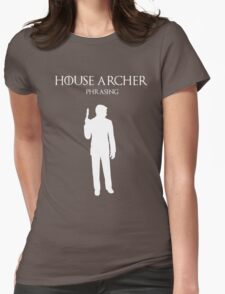 House Archer Womens Fitted T-Shirt