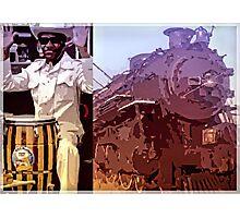 Blues Train Photographic Print