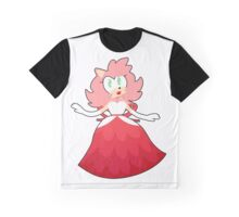 Fancy Party Amy Rose!  Graphic T-Shirt