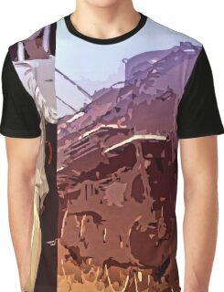 Blues Train Graphic T-Shirt