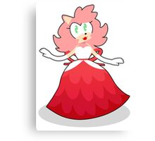 Fancy Party Amy Rose!  Canvas Print