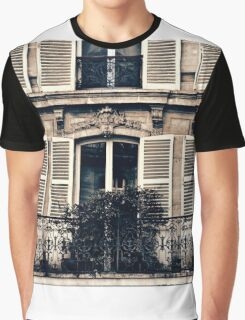 Windows and Shutters Graphic T-Shirt