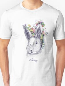 rabbit (flowers) T-Shirt