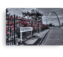 Remembering The Fallen Canvas Print
