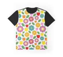 Colorful flowers Graphic T-Shirt