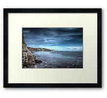 Folkestone Beach Framed Print