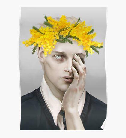 Flower crown Noah Poster