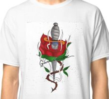 Rose and Dagger  Classic T-Shirt