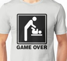 GAME OVER DAD Unisex T-Shirt