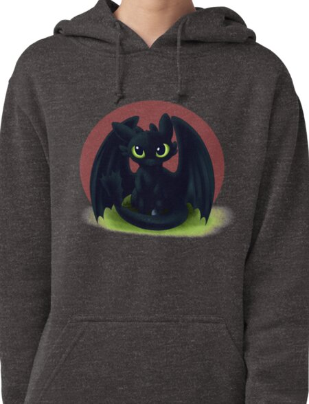 Baby Toothless Pullover Hoodie