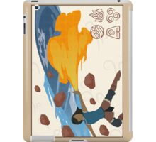 Korra bending 4 elements iPad Case/Skin
