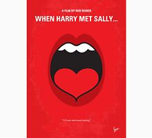 No405 My When Harry Met Sally minimal movie poster Unisex T-Shirt