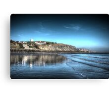 Folkestone Beach (2) Canvas Print