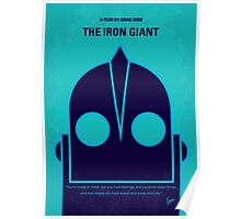 No406 My The Iron Giant minimal movie poster Poster