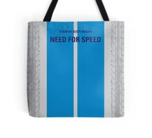 No407 My NEED FOR SPEED minimal movie poster Tote Bag