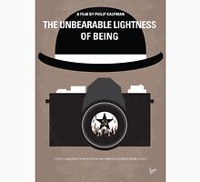 No408 My The Unbearable Lightness of Being minimal movie poster Unisex T-Shirt