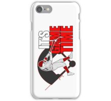 It's Game Time - Baseball (Red) iPhone Case/Skin