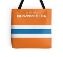 No411 My The Cannonball Run minimal movie poster Tote Bag